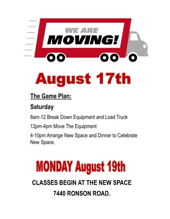 Moving Event