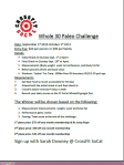 whole 30 paleo challenge