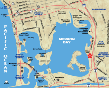 mission bay park map
