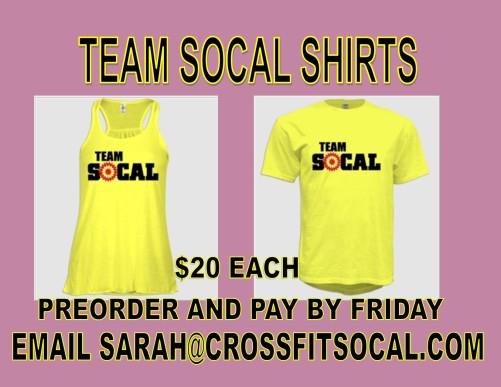 TEAM SOCAL T-SHIRT