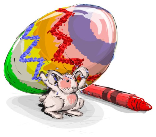 Easter-Rabbit-Is-Strong